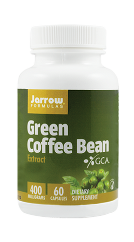 GREEN COFFEE BEAN 400mg 60cps - Remedii-Online.ro