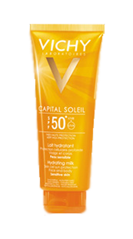 CAPITAL SOLEIL LAPTE FATA si CORP  SPF50 300ml-Remedii-Online