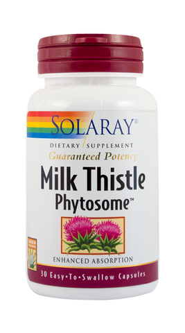 Milk Thistle Phytosome 30cps - Remedii-Online.ro