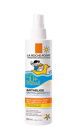 ANTHELIOS DERMO-PEDIATRICS SPF 50 SPRAY FATA SI CORP 200ml-Remedii Online