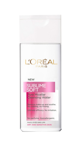 Dermo Expertise Sublime Soft solutie micelara ten sensibil si uscat 200ml-Remedii Online