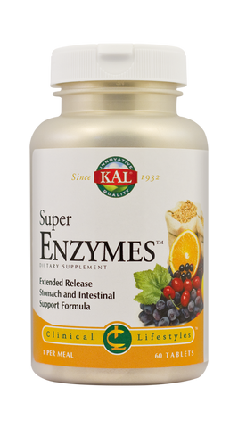 Super Enzymes 60tb - Remedii-Online.ro