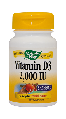 Vitamin D3 2000UI (adulti) 120cps - Remedii-Online.ro