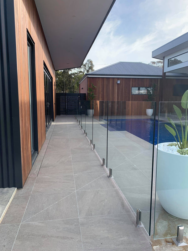 Stainless Steel Spigots In Pool Fencing