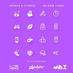 We have added new icons - Sports & Fitness