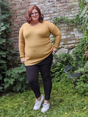 Fall Fave Waffle-Knit Sweater (more colors!)