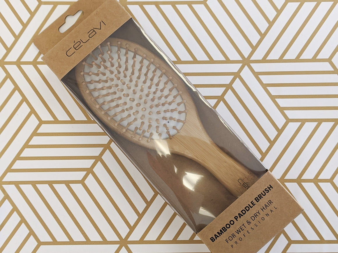 Bamboo Wet/Dry Hairbrush