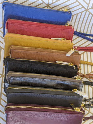 Multi-Pocket Wristlet/Clutch (more colors!)