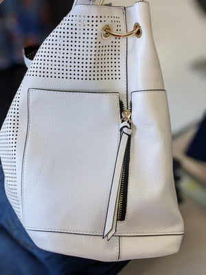 Laser Cut Bag w/Bonus handbags bag boutique