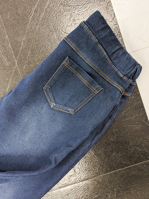 Fleece Lined Dark Wash Jeggings