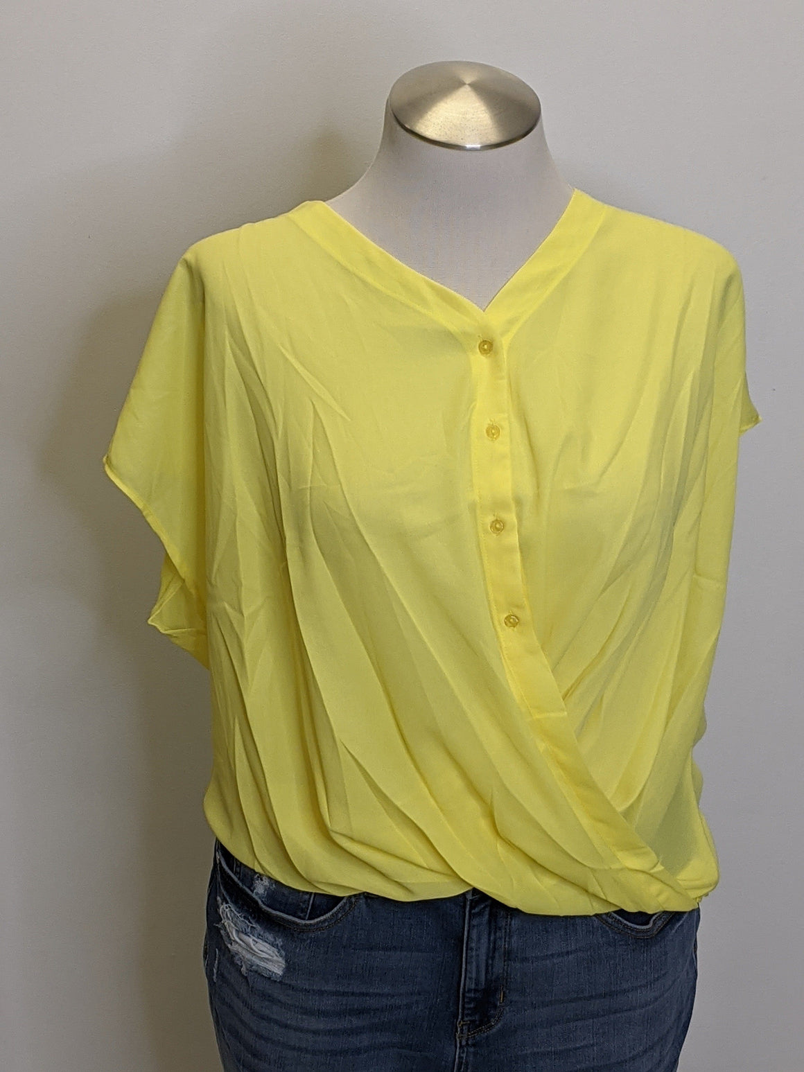 DRAPED CROSSOVER TOP (MORE COLORS!) Tops ninexis