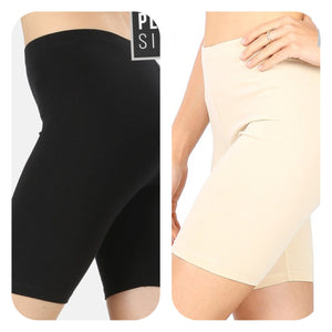 Chub-Rub Shorts Basics Stacked - Fashion for Curves