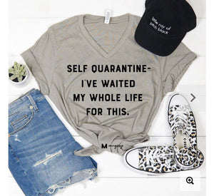 Quarantine Stylin' Graphic Tees Stacked - Fashion for Curves