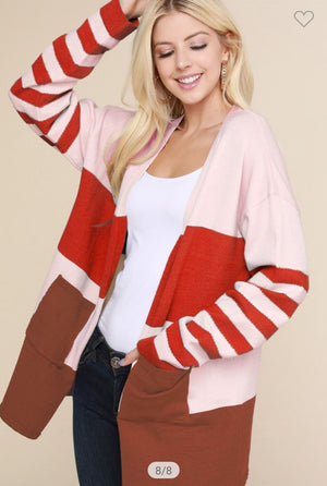 Varsity Oversized Cardigan (more colors!) Sweaters ninexis