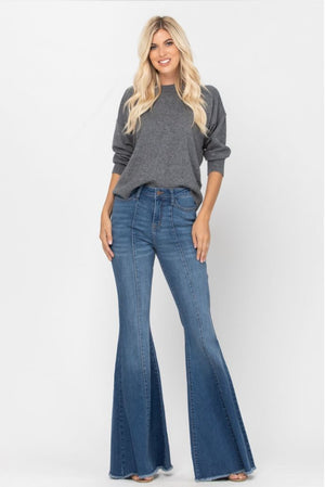 Judy Blue Mid-Seam Flares (Limited Edition!) Jeans Judy Blue