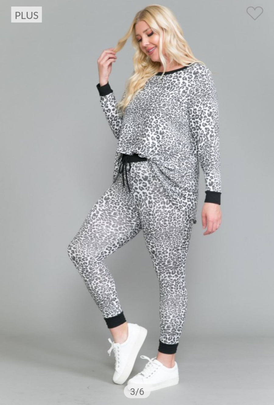 B+W MINI LEOPARD LOUNGE SET SLEEP voll