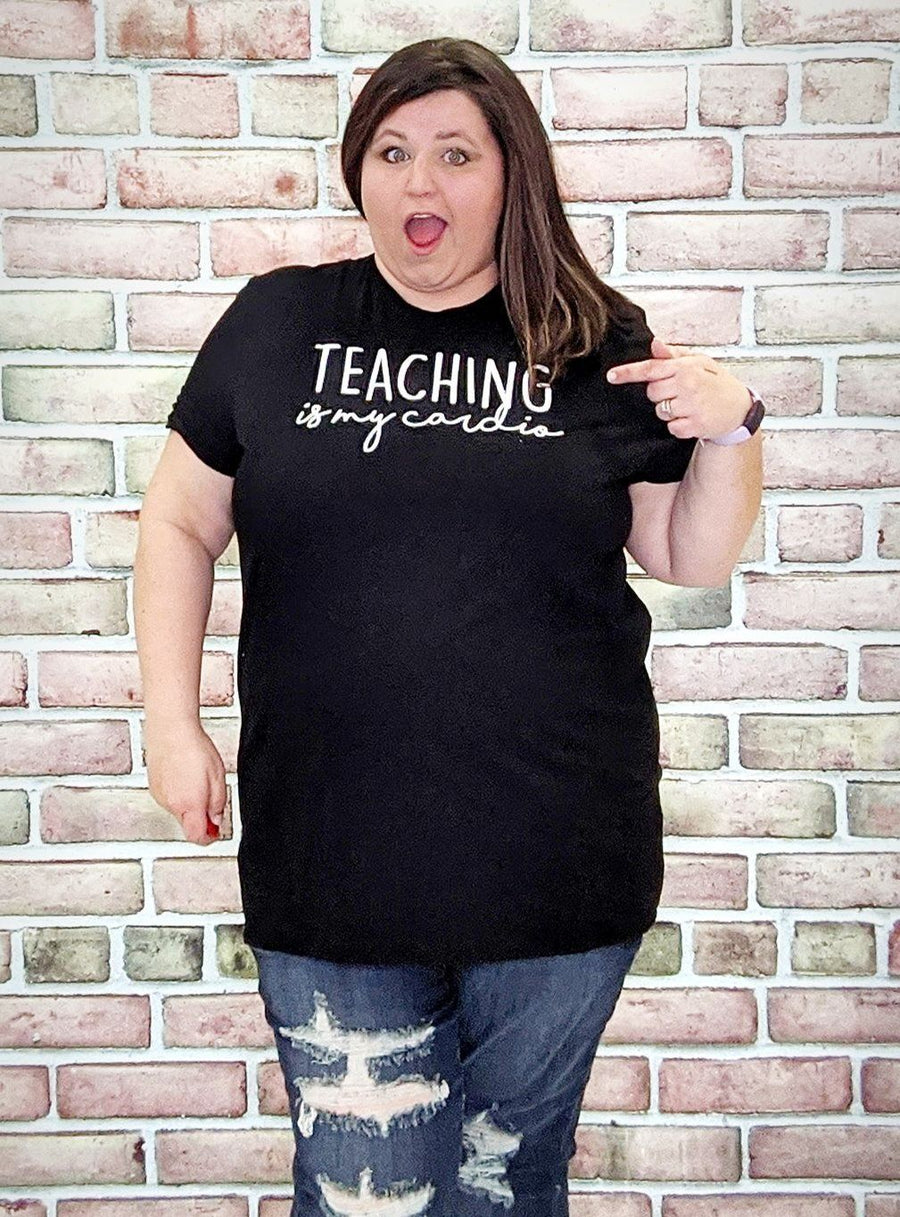 Black Teaching Tee