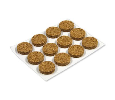 Adhesive Cork Pads 1/2 Inch (8 Count) CORKPAD