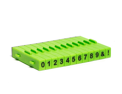 Attachable Numbers Stamp Set 12pcs Xiem ALSS1N