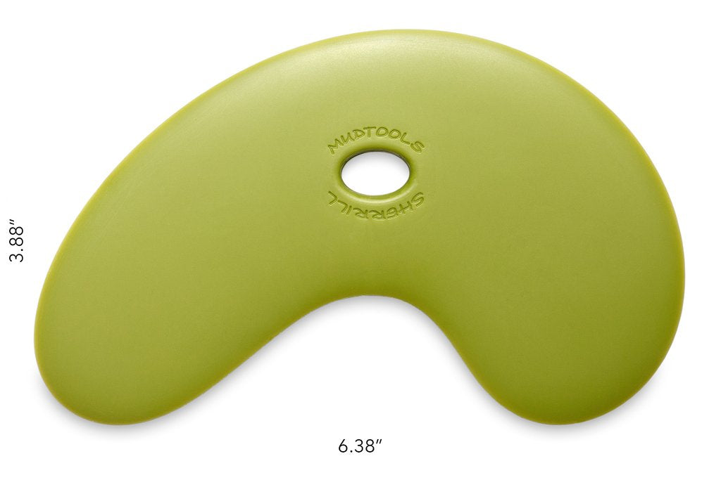LBRG Large Bowl Rib Green Firm Mudtools