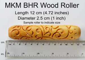 MKM Large Handroller Maple Leaves BHR-008