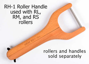 MKM Small Handle Roller 3 Zigzag RS-008