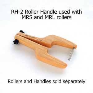 MKM MRL-018 Mini Roller 1 cm Feathered Lines