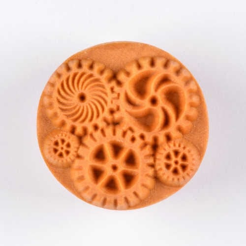 MKM Large Round Stamp Steampunk SCL-023