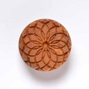 MKM Large Round Stamp Circle Spiral SCL-036