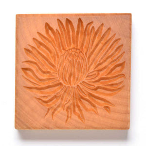 MKM Large Square Stamp Chrysanthemum Ssl-83