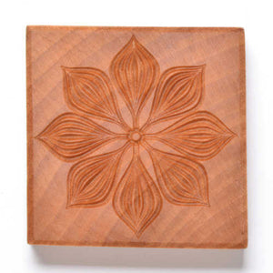 MKM Large Square Stamp Poinsettia 2 Ssl-90