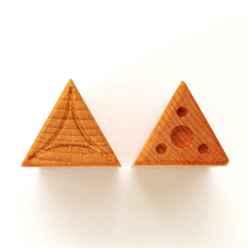 MKM Medium Triangle Stamp STM-9