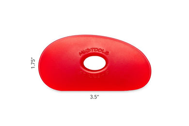 R1 Mudtools Polymer Rib Very Soft Red