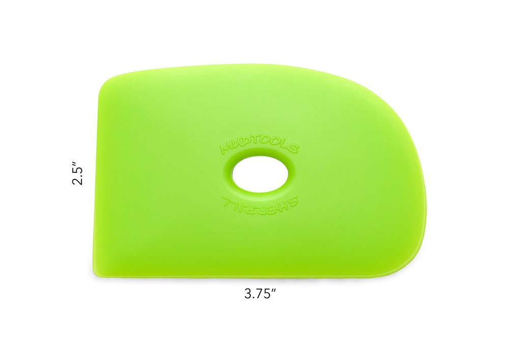 G2 Mudtools Polymer Rib Medium Green