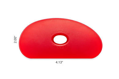 R5 Mudtools Polymer Rib Very Soft Red