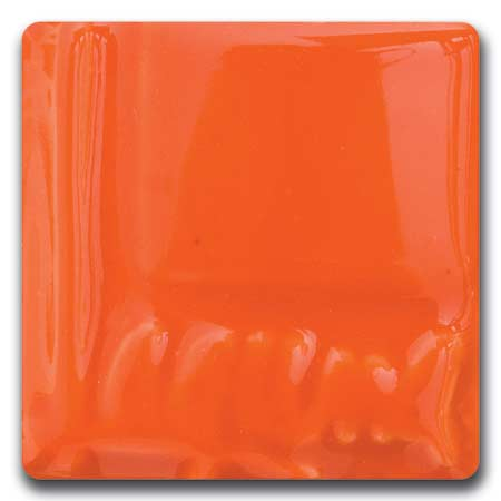 Flaming Orange Creatable Colors Cone 06 Glaze (Pint) Laguna EM-2120