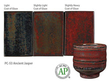 Load image into Gallery viewer, Ancient Jasper Potter's Choice Cone 5 Glaze (Pint) Amaco PC-53