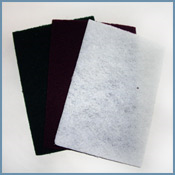 Cleaning Pad Maroon 6x9