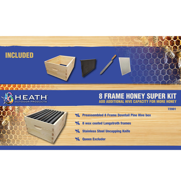 8 Frame Honey Super Kit