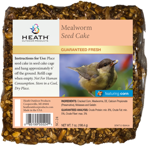Mealworm Seed Cake with Corn - 7 oz - Pack of 12