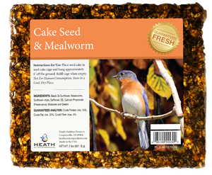 Mealworm Seed Cake - 2 lb - 8 pack