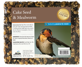 Mealworm Seed Cake with Peanut & Raisin - 2 lb - 8 pack