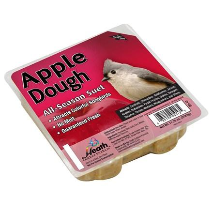 Apple Dough Suet Cake - 11.25 oz - Pack of 12 - Heathoutdoors