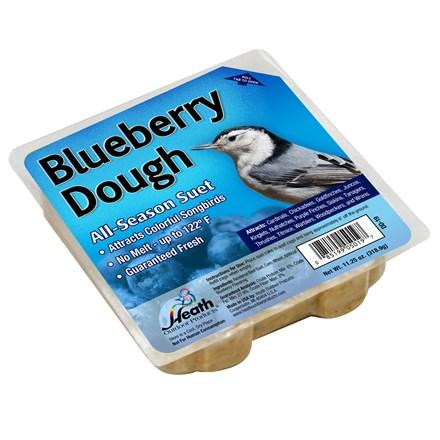 Blueberry Dough Suet Cake - 11.25 oz - Pack of 12 - Heathoutdoors