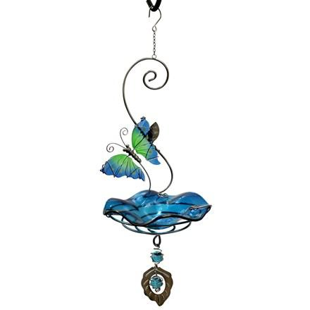 Butterfly Bliss Bird Feeder - Blue - Heathoutdoors