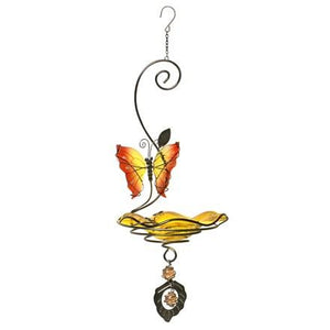 Butterfly Bliss Bird Feeder - Yellow - Heathoutdoors