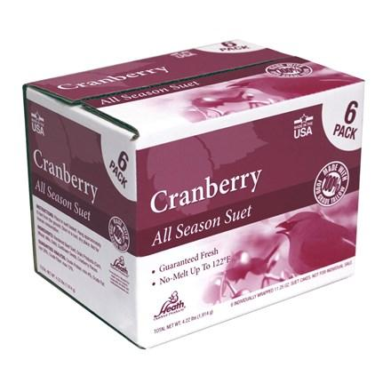 Cranberry Suet Cakes - 6 Pack - Heathoutdoors