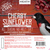 Cherry Sunflower Premium Crafted Suet Cake - 11.75 oz. 12 pack