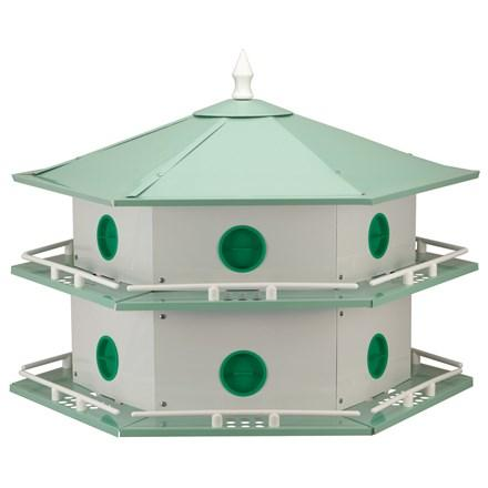 Deluxe Aluminum Purple Martin House - 12 Room - Heathoutdoors
