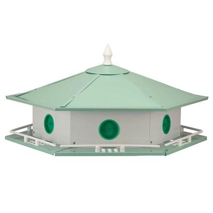 Deluxe Aluminum Purple Martin House - 6 Room - Heathoutdoors